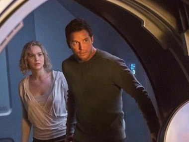 Watch: New trailer of Jennifer Lawrences Passengers has her fighting for survival