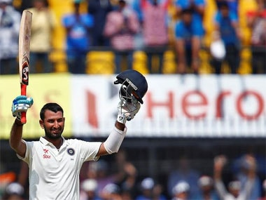 Cheteshwar Pujara is in good form and looks primed to take on England. Reuters