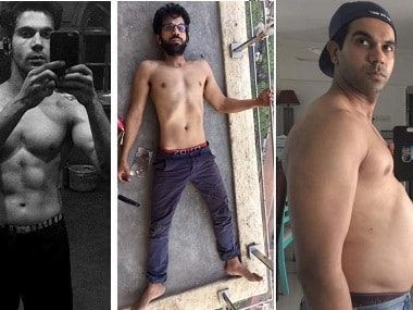 Rajkummar Rao put on 11 kg for Bose: Other actors who underwent extreme weight changes