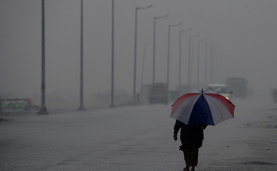 The intensity would increase with rainfall at most places and