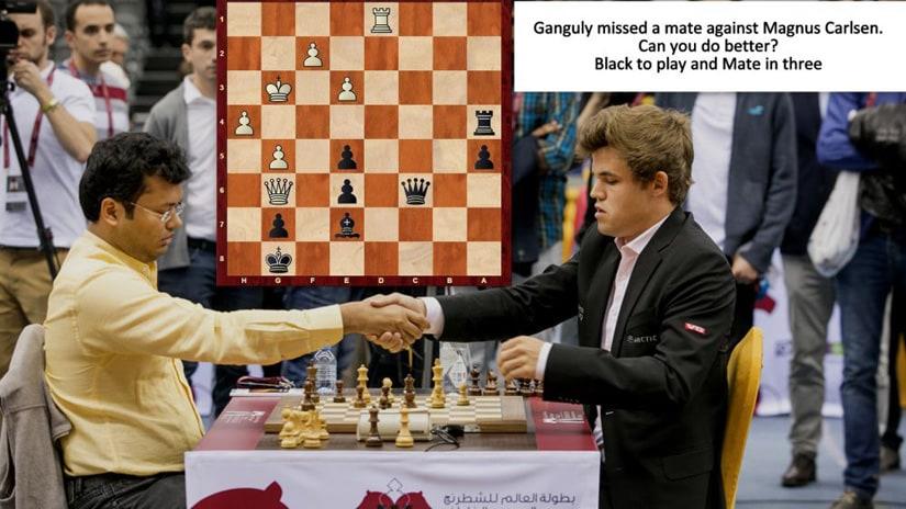 World Rapid and Blitz Chess Championships: Surya Shekhar Ganguly lets Magnus Carlsen off the hook