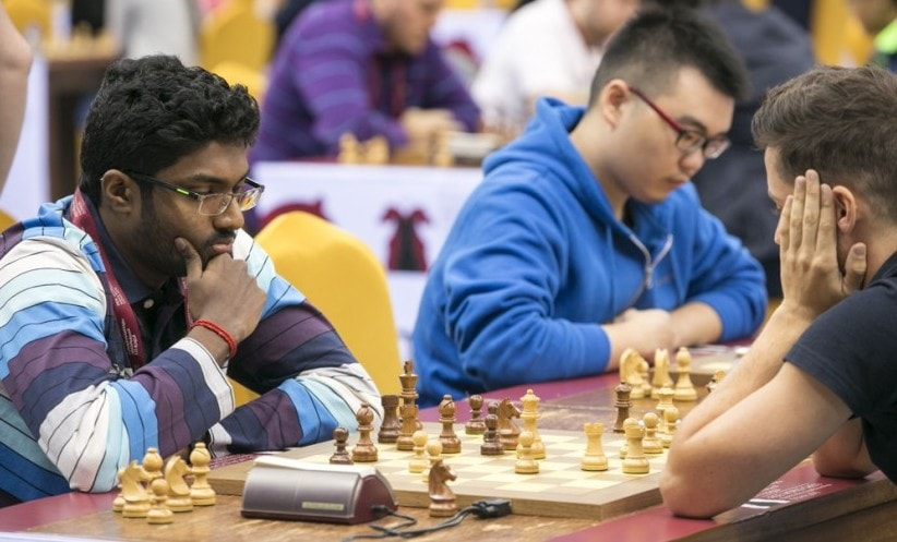 A lot is expected from B Adhiban who is going to play against the best players in the world in 15 days from now at the Tata Steel Group A (image courtesy: Maria Emelianova)