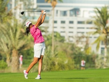 Dubai Ladies Masters: Aditi Ashok moves to third, in line for hat-trick of titles