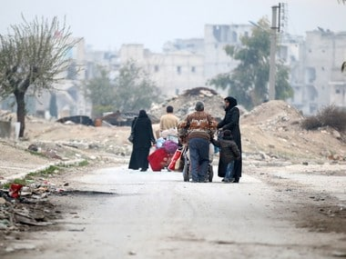 Aleppo crisis: No tears are being shed for survivors, not in India anyway