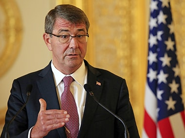 Pentagon credits Ashton Carter with spearheading deepening of India-US defence cooperation