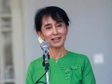 File image of Myanmar leader Aung San Suu Kyi. Reuters