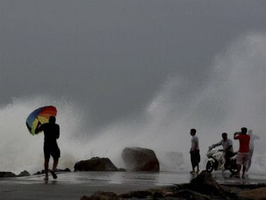 From low pressure area to very severe cyclonic storm: Heres how IMD tracked Cyclone Vardah