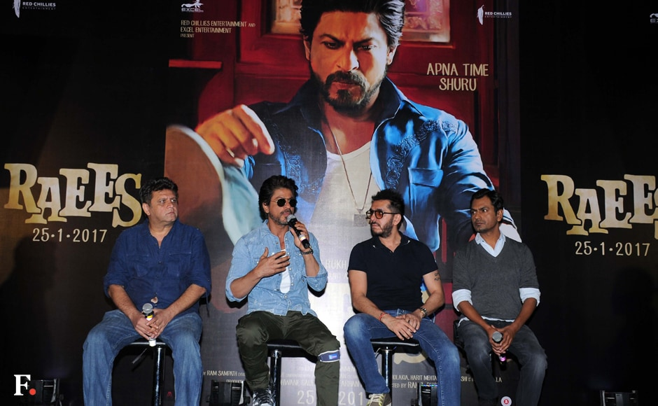 The much-awaited Raees is directed by Rahul Dholakia and co-produced by Ritesh Sidhwani. Sachin Gokhale /Firstpost