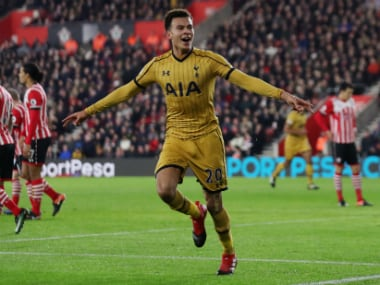 File image of Dele Alli. Reuters