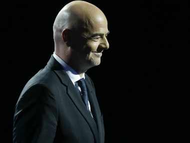 Fifa president Gianni Infantino hopes to see improved video refereeing system at 2018 World Cup