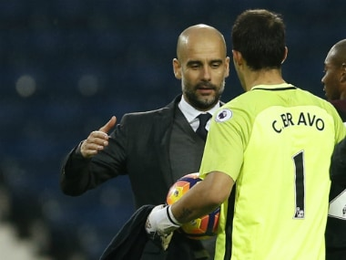 Premier League: Manchester City boss Pep Guardiola dismisses Claudio Bravo exit rumours