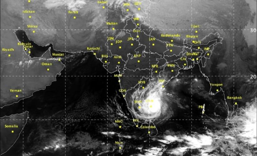 Cyclone Vardah: Storm moves further, expected to make landfall near Chennai