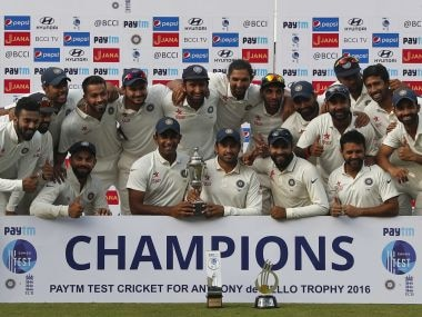 India vs England: Virat Kohli and team end 2016 as No 1 in ICC Test Rankings