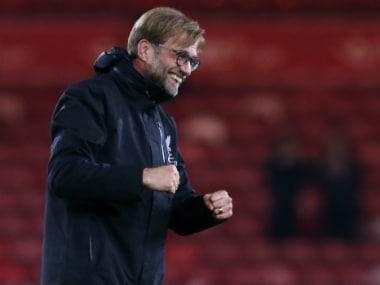 Premier League: Liverpool boss Jurgen Klopp jokes Pep Guardiola was at Anfield to watch good football