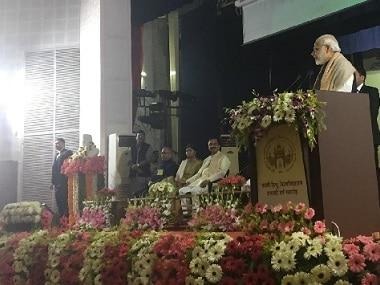 Narendra Modi in Varanasi: PM flays Rahul Gandhi, but sidesteps his allegations