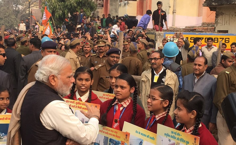 Prime Minister Narendra Modi's visit comes at a time when Uttar Pradesh is all set to enter election mode in the next few weeks. Image credit: PMOIndia