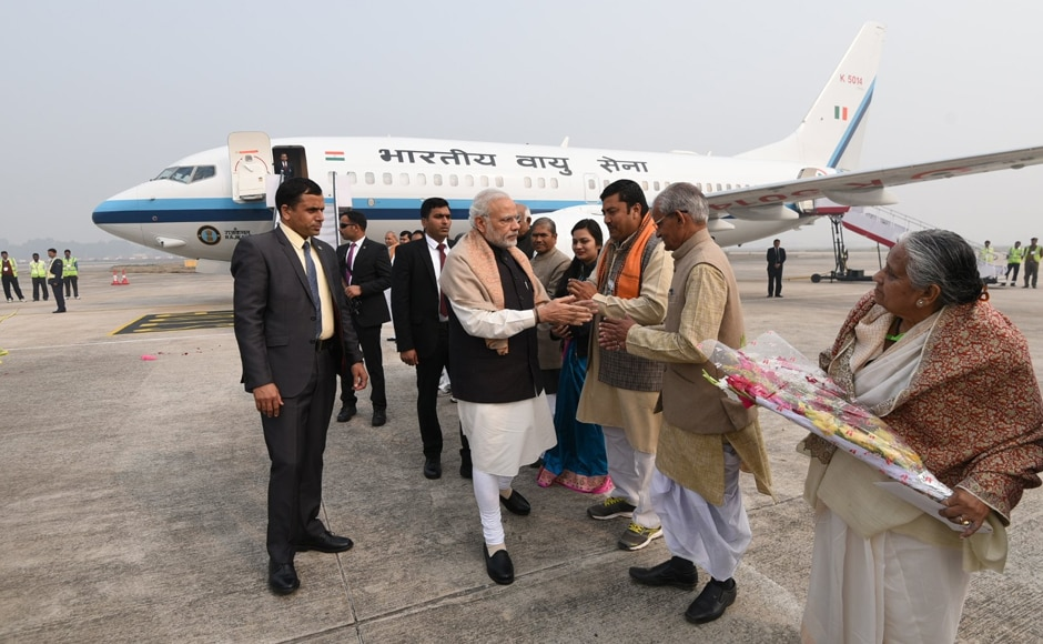 Prime Minister Narendra Modi visited his parliamentary constituency Varanasi on Thursday. Image credit: PMOIndia