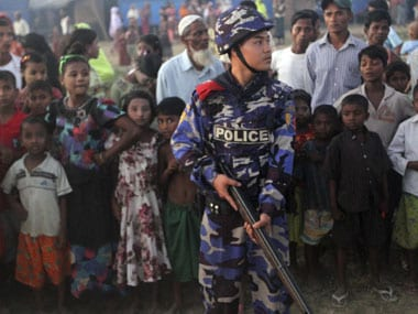 Myanmar troops arrest four insurgents suspected of killing six Buddhists in Rakhine