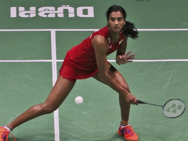 File photo of PV Sindhu. AP