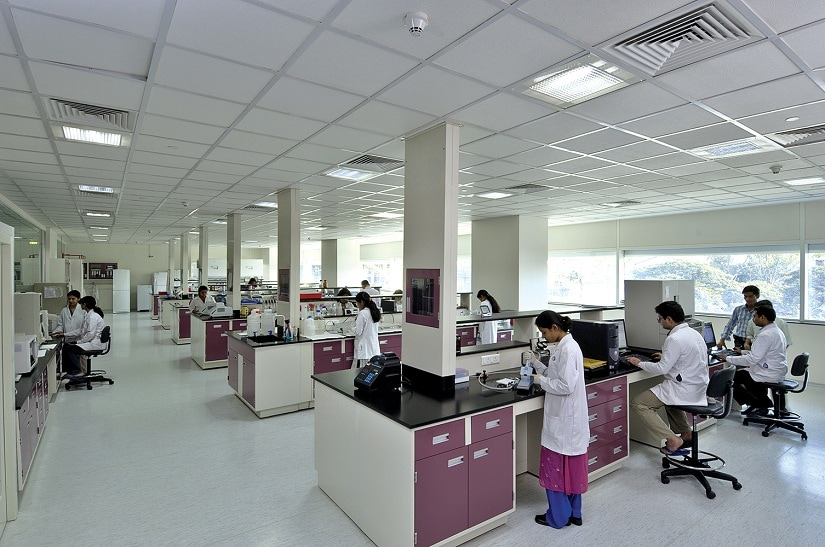 The Reliance Life Sciences laboratory