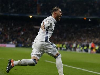 File image of Real Madrid's Sergio Ramos. AP