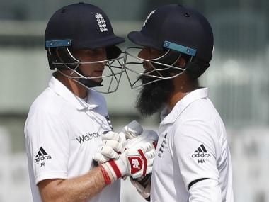 India vs England, 5th Test: Joe Root, Moeen Alis 50s give visitors composure at Tea