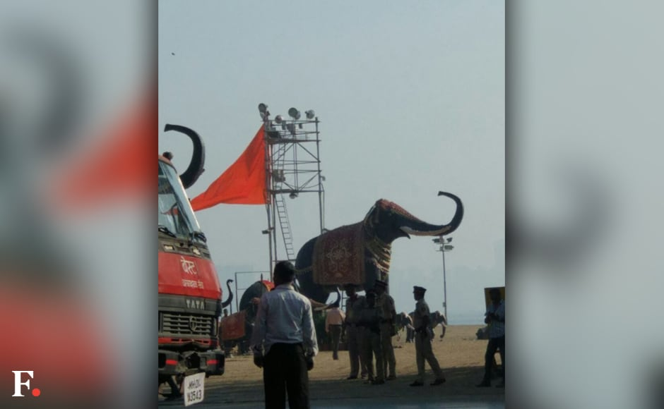 Prime Minister Narendra Modi will perform the bhoomipujan on Saturday at the site where a huge statue of Maratha warrior king Chhatrapati Shivaji Maharaj is to be erected, off Arabian Sea in Mumbai. Shivaji, a warrior king who established his own rule known as 'Swaraj' in the 17th Century in what is today known as Maharashtra. Maithili Pradhan/Firstpost