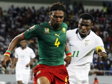 Former Cameroon captain Rigobert Song back from the brink after suffering stroke