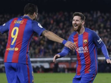 La Liga: Lionel Messi, Luis Suarez power Barcelona's 4-1 win over Espanyol