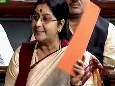 India will provide help to the mother whose boy has been taken away by Norway: Sushma Swaraj