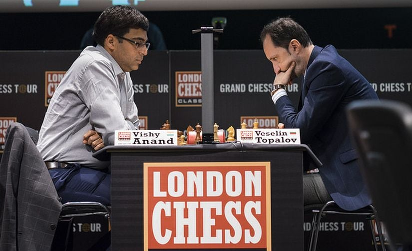 London Chess Classic: Viswanathan Anand crushes Veselin Topalov with another novelty