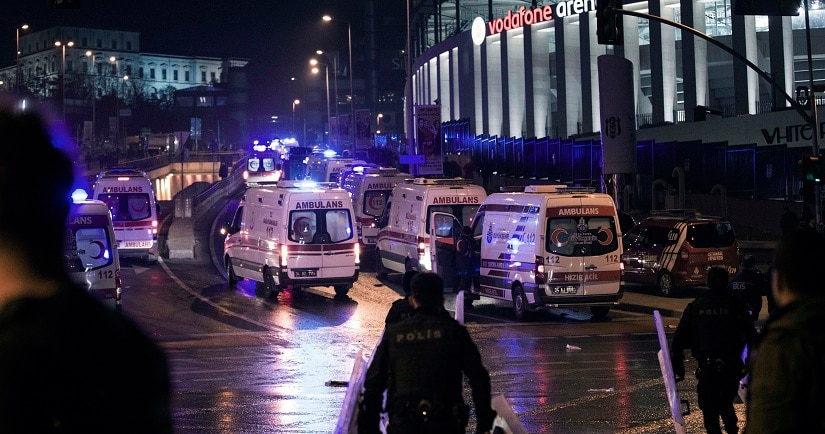 Turkey: Twin blasts near Istanbul football stadium kill 38, wound 166