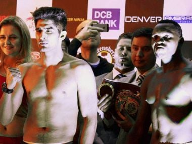 Vijender Singh vs Francis Cheka: Where and when to watch the WBO Asia Pacific title bout