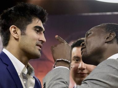 Vijender Singh looks scared already, says WBO Asia Pacific challenger Francis Cheka