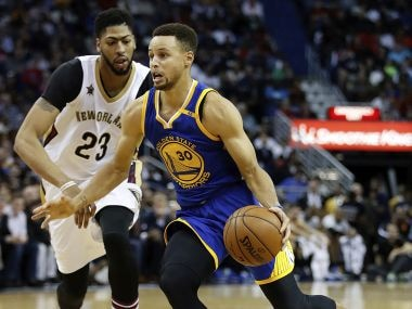 NBA roundup: Steph Curry outguns Anthony Davis in Warriors' win, Cleveland Cavaliers maul Grizzlies