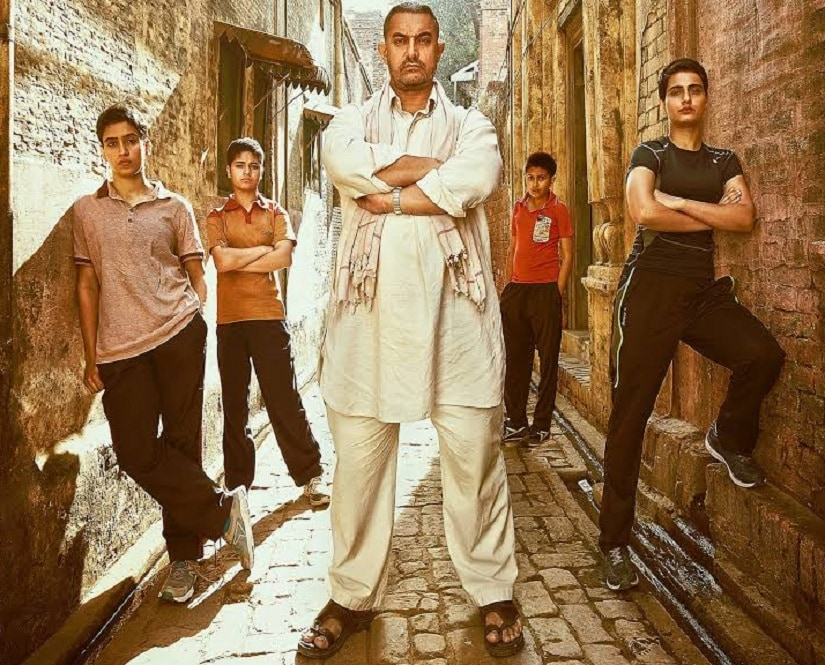 Aamir Khan as Mahavir Singh Phogat in 'Danga'