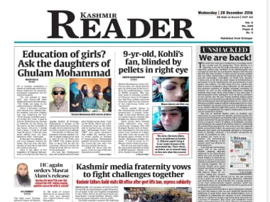 Kashmir Reader back on stands after govt vacates three-month ban on daily