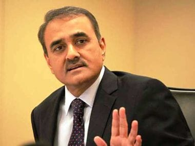 File photo of AIFF president Praful Patel. Image courtesy: Twitter/ @IndianFootball
