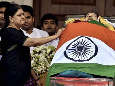 Tamil Nadu after Jayalalithaa: Power remains firmly in Poes Garden, for now