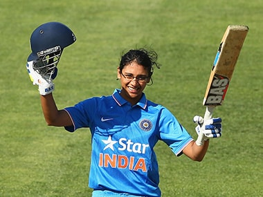 Smriti Mandhana named in ICC Womens Team of the Year; only Indian on the list