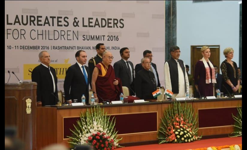 Childrens rights unite Nobel laureates, world leaders in Delhi summit
