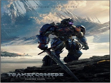 Optimus Prime strikes back, stronger and darker, in new Transformers: The Last Knight poster