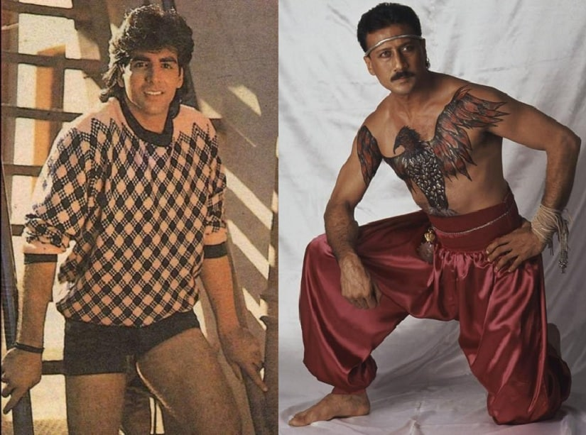 Akshay Kumar and Jackie Shroff have been known to pose in some of the strangest outfits known to mankind