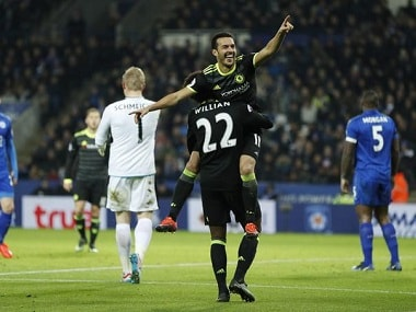 Premier League: Chelsea down Leicester City despite Diego Costas controversial absence