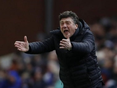 """Britain Football Soccer - Stoke City v Watford - Premier League - bet365 Stadium - 3/1/17 Watford manager Walter Mazzarri Action Images via Reuters / Carl Recine Livepic EDITORIAL USE ONLY. No use with unauthorized audio, video, data, fixture lists, club/league logos or """"live"""" services. Online in-match use limited to 45 images, no video emulation. No use in betting, games or single club/league/player publications. Please contact your account representative for further details."""