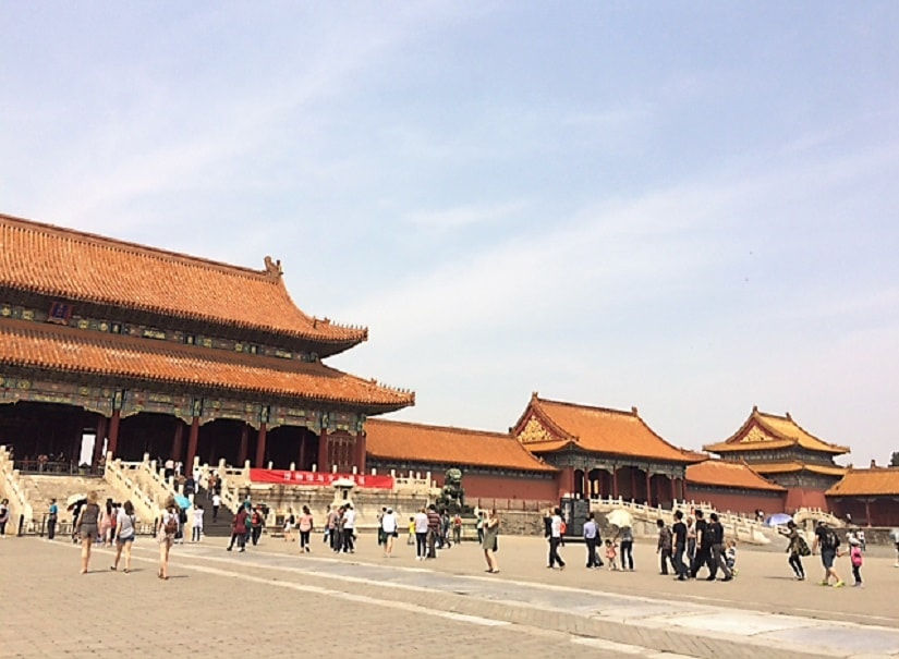 The 9,999 rooms in the Forbidden City are contained within 980 magnificent wooden buildings
