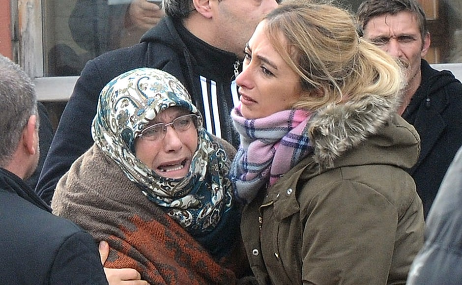 The shooting, which unleashed scenes of carnage and panic among party-goers at one of Istanbul's swankiest venues, took place just 75 minutes into 2017 after a bloody year in Turkey in which hundreds of people were killed in violence blamed on both IS jihadists and Kurdish militants. In a statement circulated on social media, the jihadist group said one of the