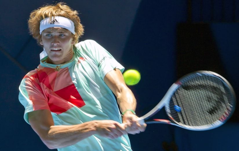 Alexander Zverev of Germany is one of the most talented upcoming youngsters on the aTP tour. AFP