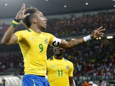 File photo of Gabon captain Pierre-Emerick Aubameyang. Reuters