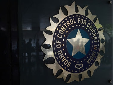Logo of the Board of Control for Cricket in India (BCCI). AFP